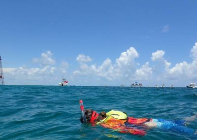 Pigeon Key Summer Camp snorkeling