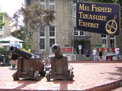 Mel Fisher Treasure Exhibit Marathon FL
